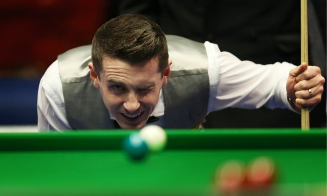 Mark Selby during his semi final match