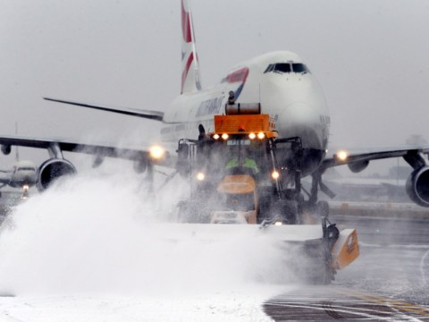 Heathrow airport grounding 130 flights for just 1cm of snow