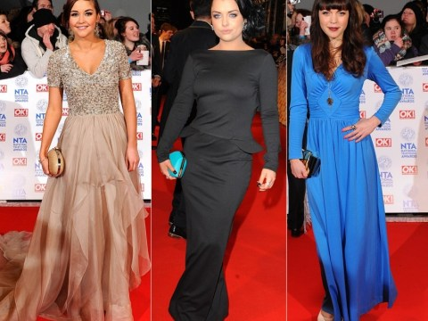 EastEnders ladies outshine their Coronation Street rivals in the National Television Awards red carpet battle