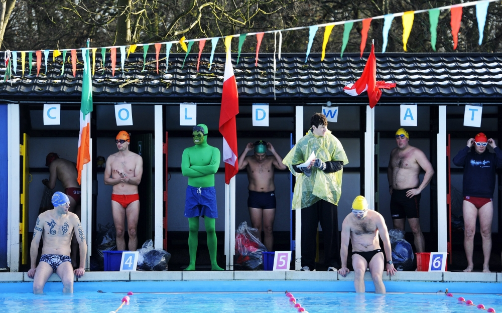 Cold Water Championships at Tooting Bec lido