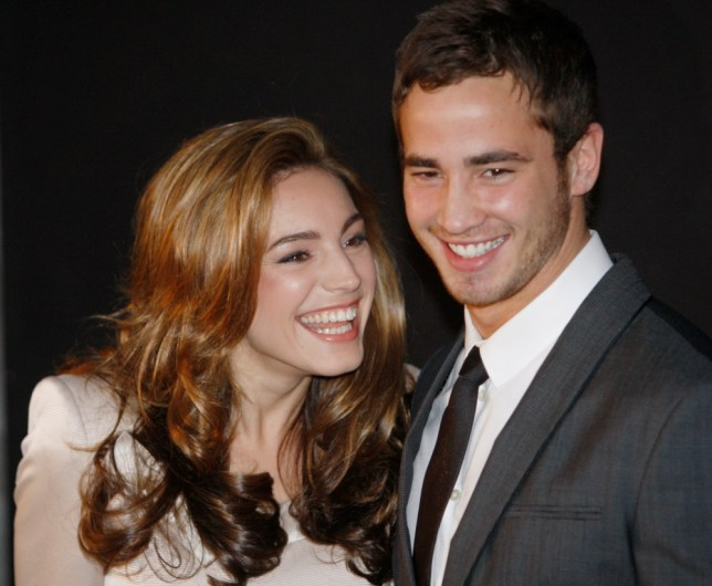 English rugby player Danny Cipriani and his girfriend Kelly Brook