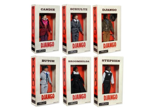 Production of Django Unchained dolls halted amid slavery controversy
