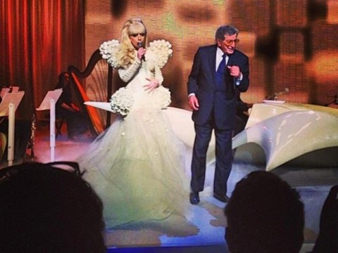 Lady Gaga working on jazz album with Tony Bennett
