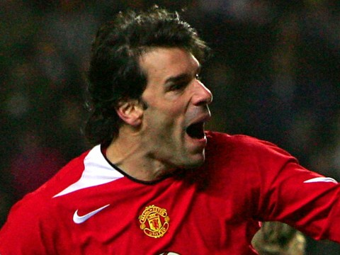Manchester United legend Ruud van Nistelrooy picks Roy Keane as his favourite former team-mate at Old Trafford