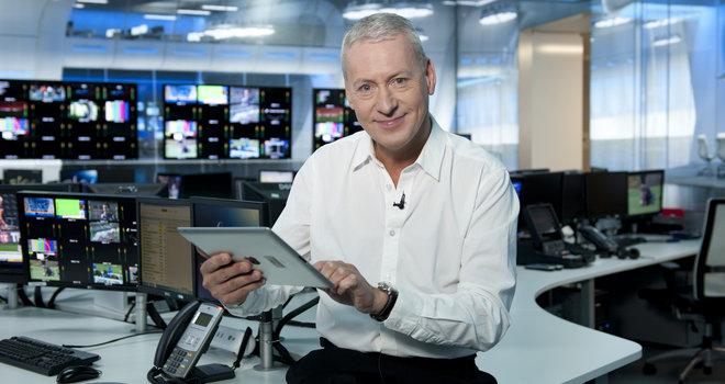 Jim White of Sky Sports News on transfer deadline day