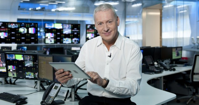 Jim White of Sky Sports News on transfer deadline day