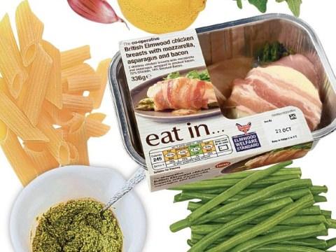 Recipe: Cheat penne pasta with mozzarella chicken