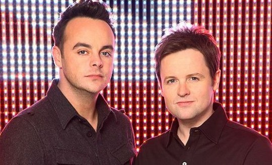 Ant and Dec are said to be keen on the idea of a silent comedy show (Picture: ITV)
