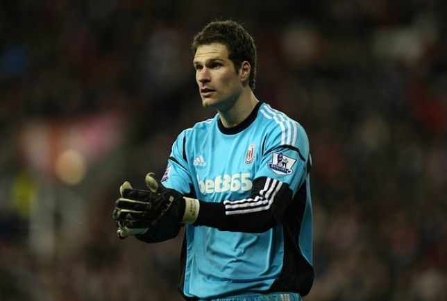 Asmir Begovic could be on his way out of the Britannia Stadium in the summer (Picture: Getty)