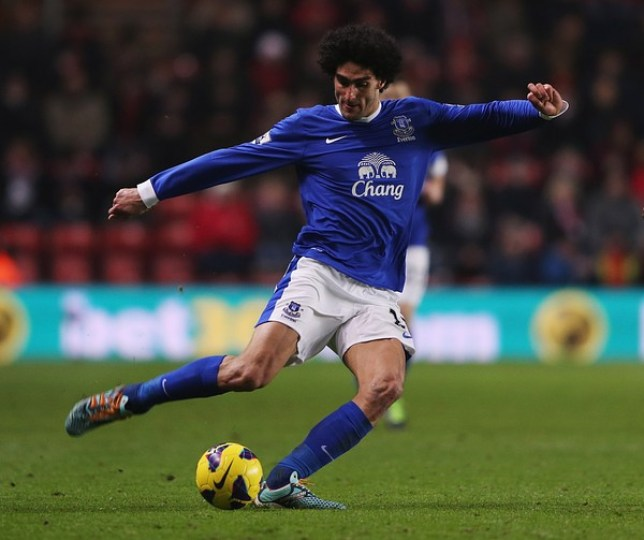 Marouane Fellaini has been in fine form for Everton this season (Picture: Getty)