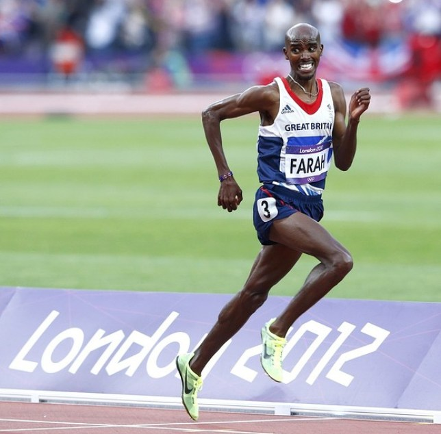 Mo Farah has decided to run just half of this year's London marathon (Picture: Reuters)