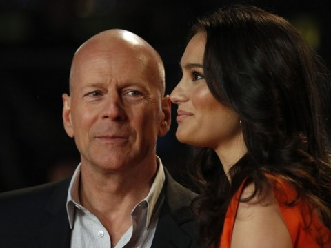 Married Bruce Willis says kissing other women is best perk of job
