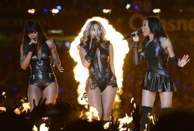 Destiny's Child are back from the noughties (Picture: EPA/LARRY W. SMITH)