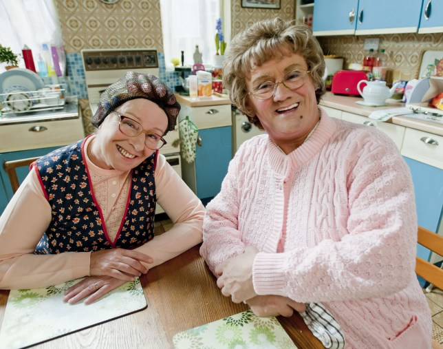 Mrs Brown's Boys is being turned into a cartoon (Picture: BBC)