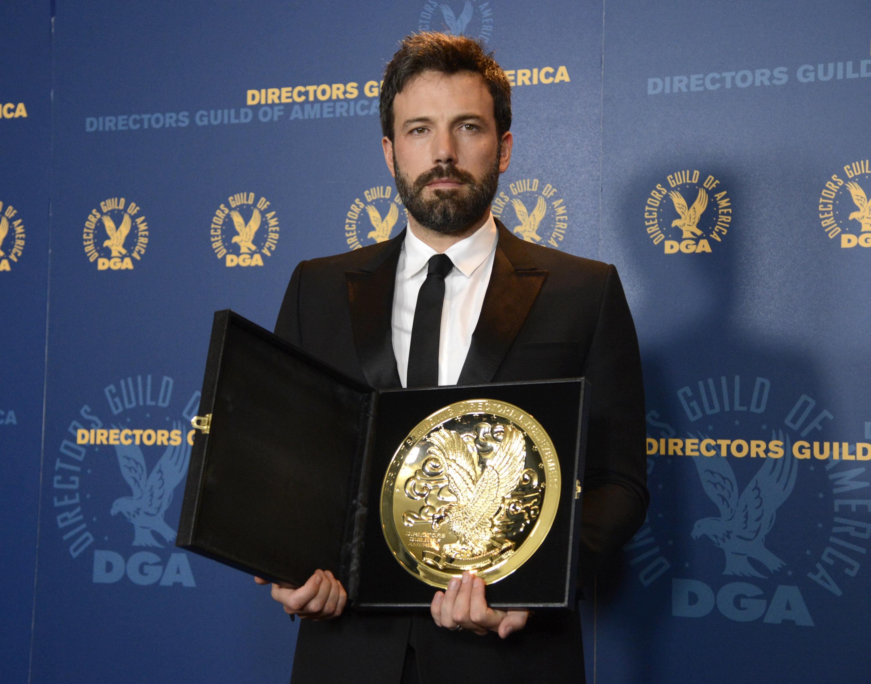 Ben Affleck wins best director prize for Argo at DGA awards