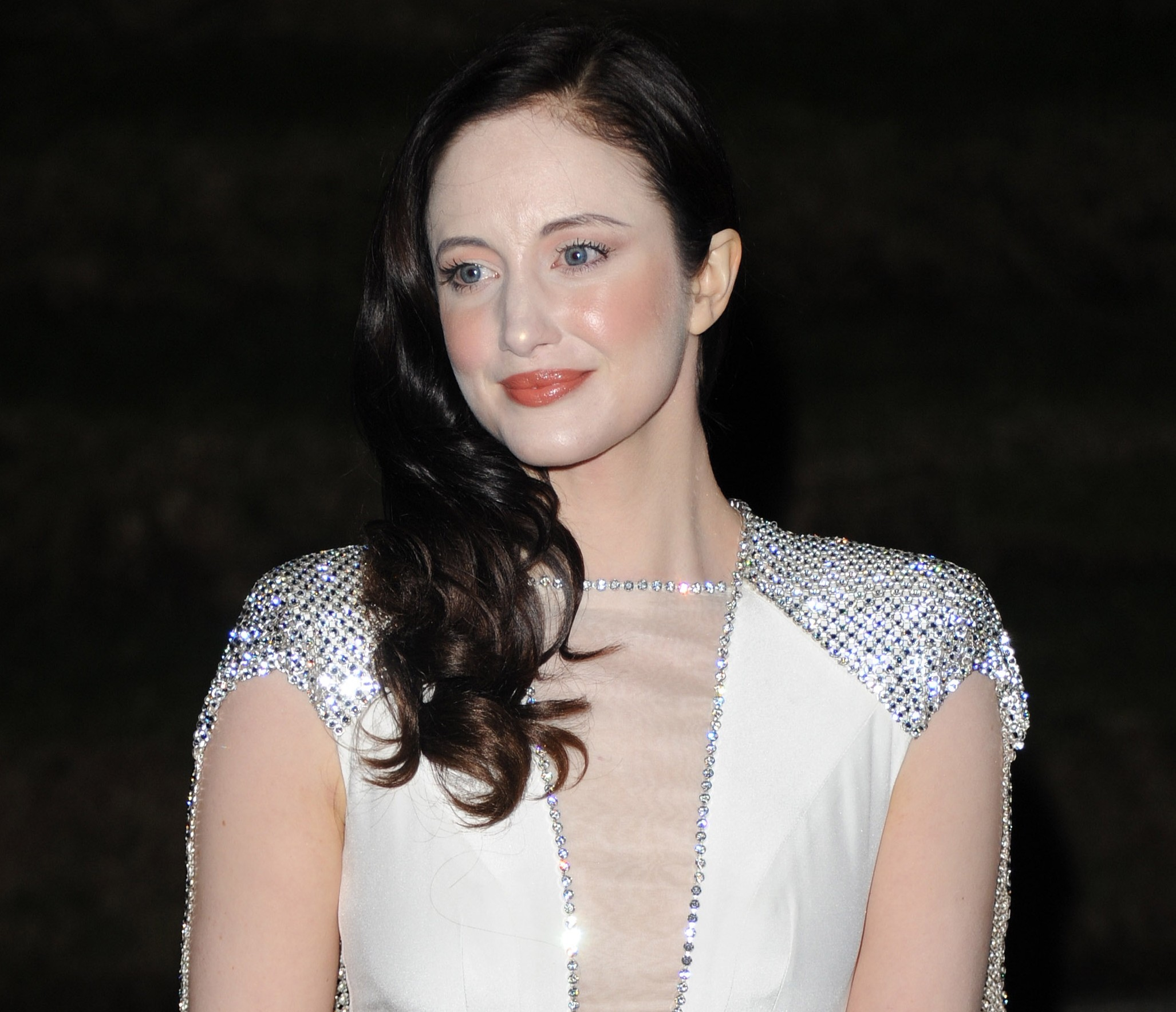 Andrea Riseborough: I really respect how Madonna allows her femininity to drive her