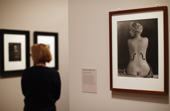 Check out Man Ray's exhibition at the National Portrait Gallery (Picture: Getty)