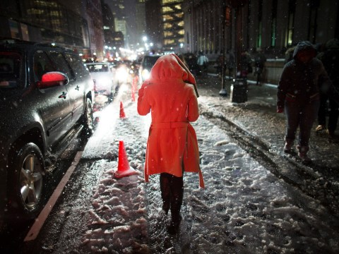 Gallery: Snowstorm hits north-east US – 9 February 2013