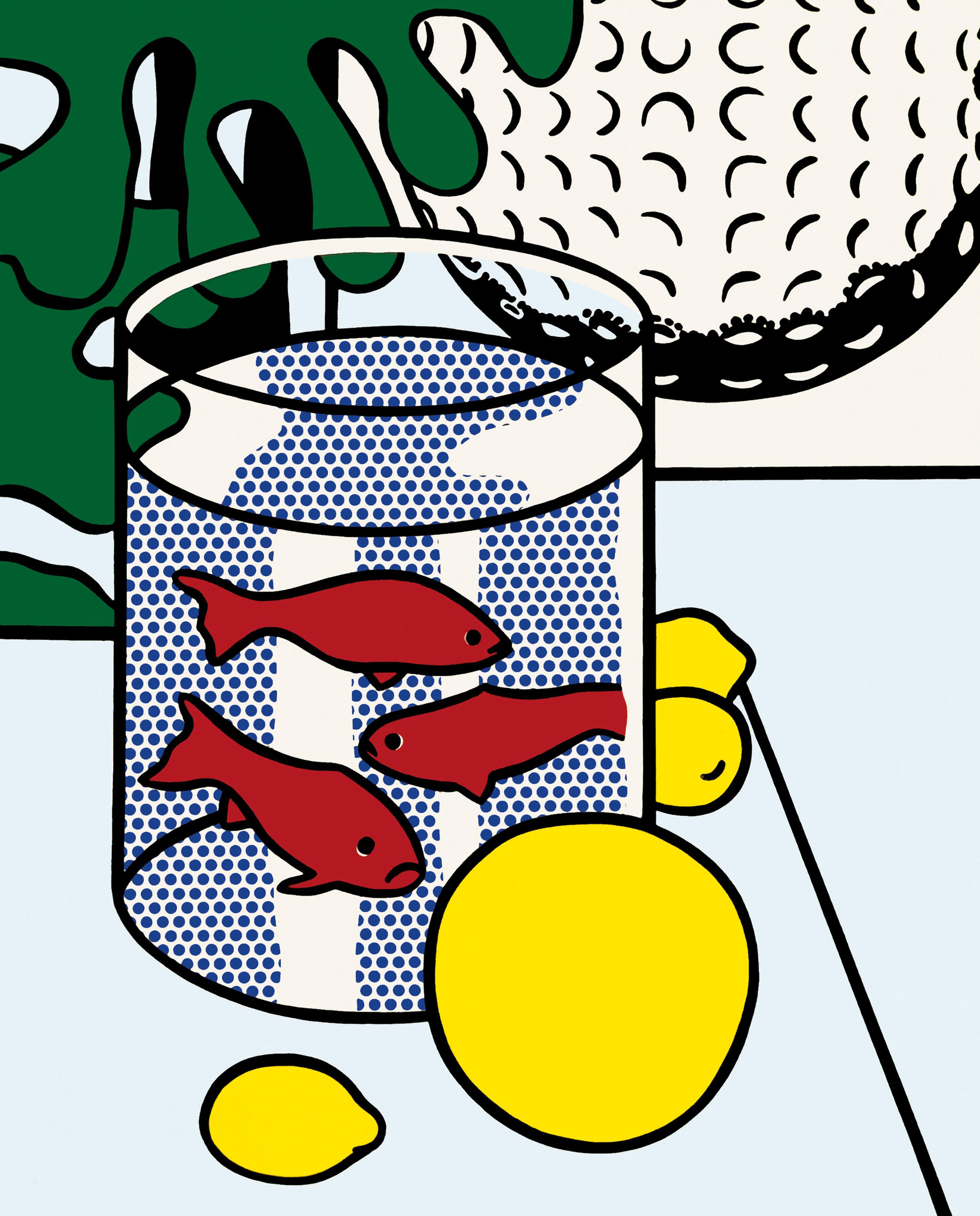 Roy Lichtenstein, Pie, 1962 | Pop art food, Roy