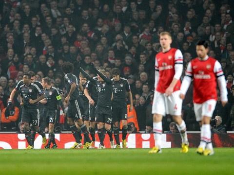 Arsenal facing Champions League exit after crushing 3-1 defeat to Bayern Munich