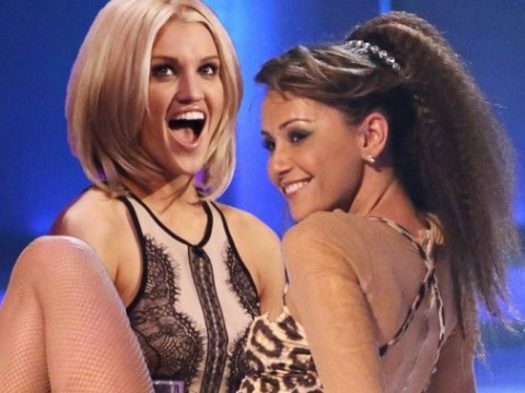 Ashley Roberts v Samia Ghadie: Dancing On Ice Face Off