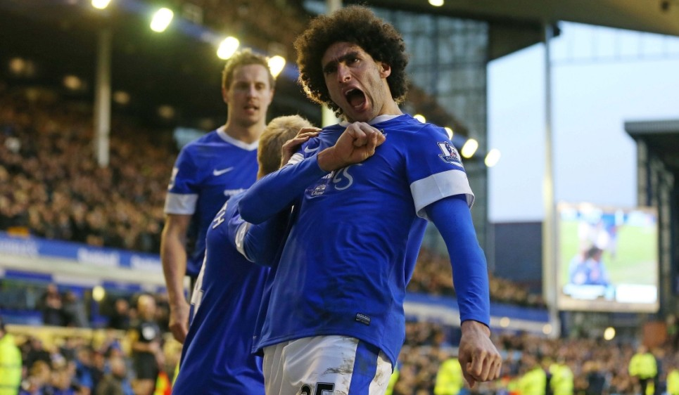 Marouane Fellaini insists his 'destiny' is with Everton despite Chelsea and Manchester United interest