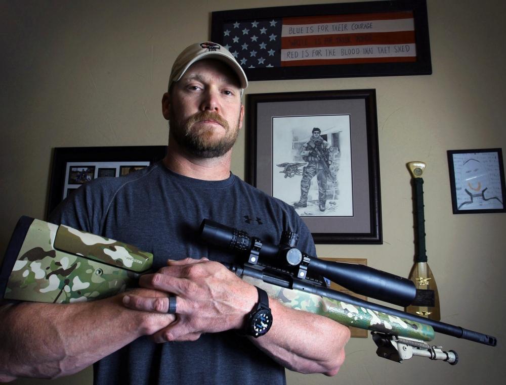 American Sniper, Chris Kyle, Texas shooting range