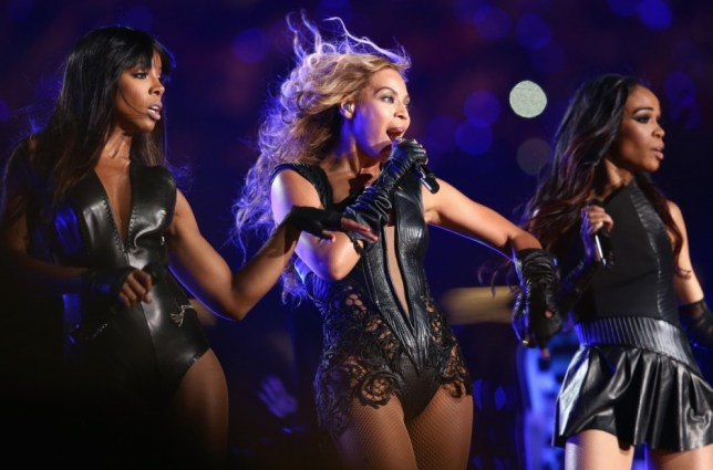 Destiny's Child reunited to perform at the Super Bowl (Picture: Getty)
