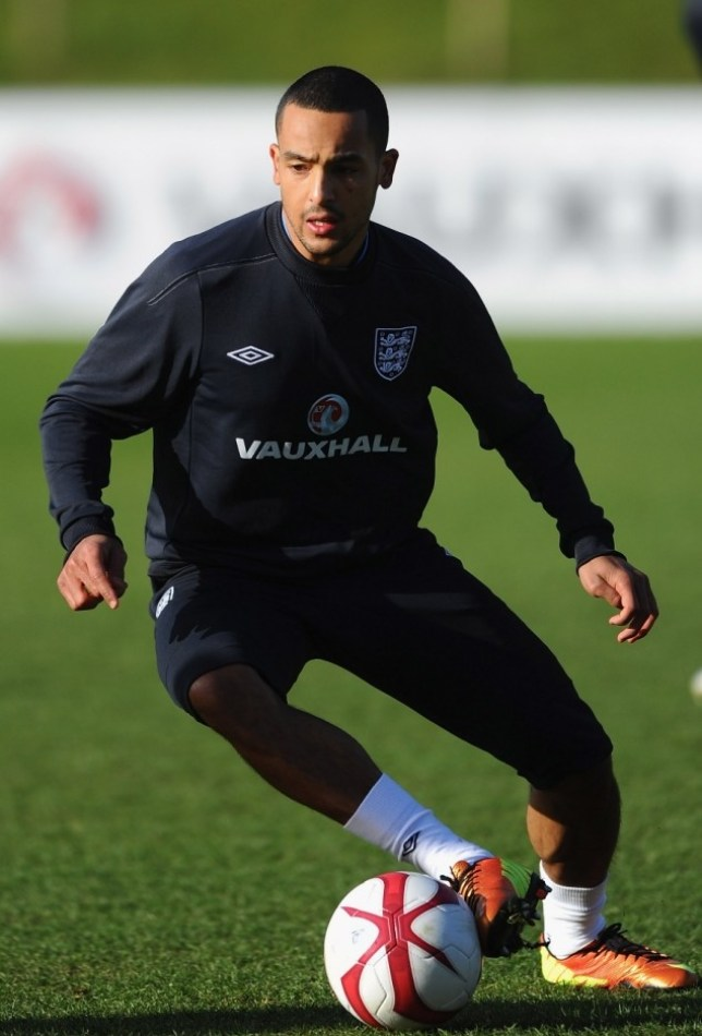 Theo Walcott is hoping his form for Arsenal will earn him a starting place for England on Wednesday (Picture: Getty)