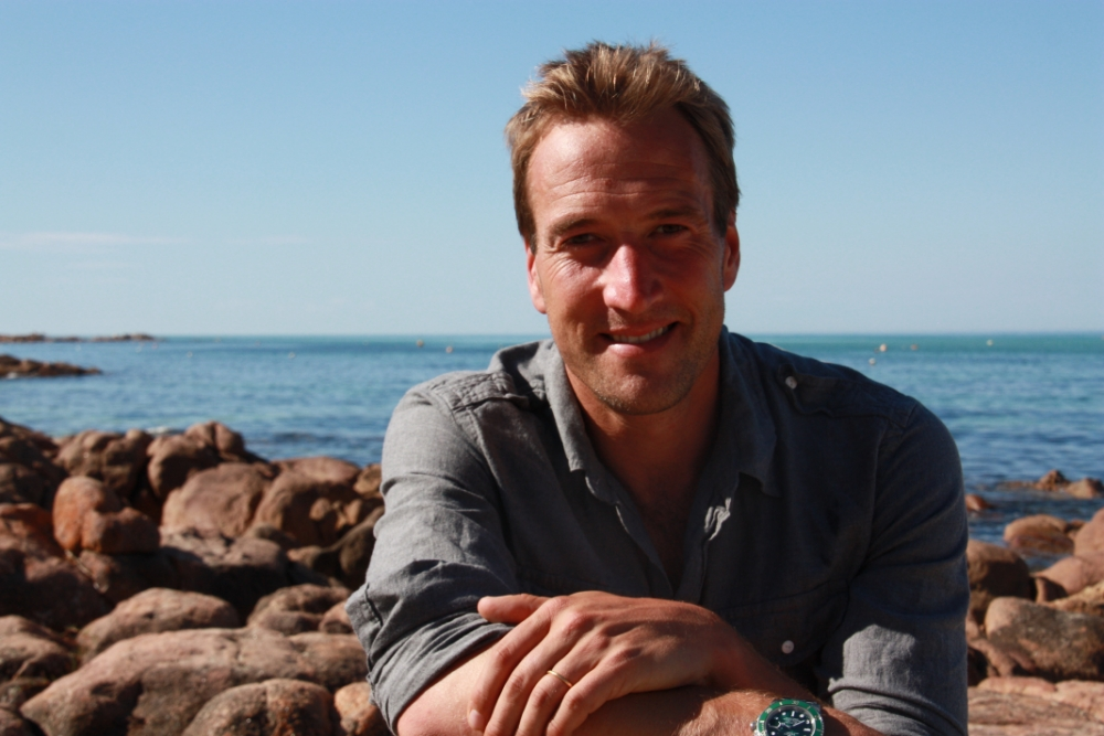 Ben Fogle attempts to jump out window and mimics Monty Python sketch while on LSD trip