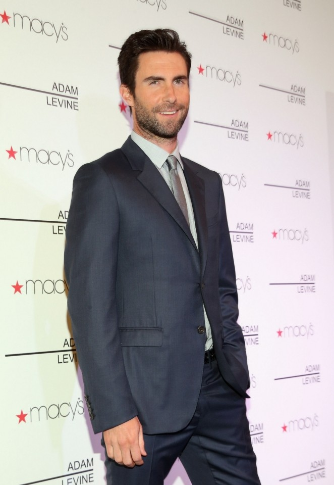Adam Levine says he's not for keeps. Pic by: Christopher Polk/Getty