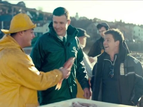 Ant and Dec turn fishermen as they become the new faces of Morrisons TV adverts