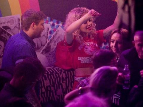 Rita Ora gets cosy with James Arthur in nightclub after Birmingham gig