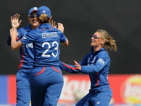 Anya Shrubsole shines as England keep World Cup final hopes alive
