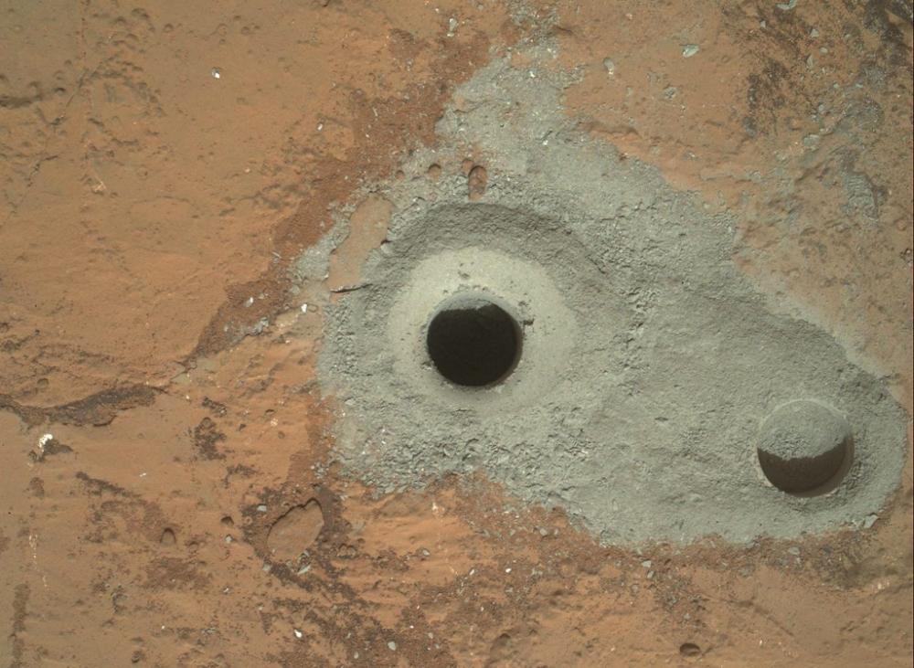 Curiosity Mars, Nasa