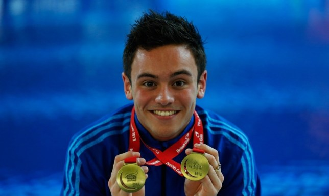 Tom Daley posted a score of 501 points to win gold (Picture: Getty)