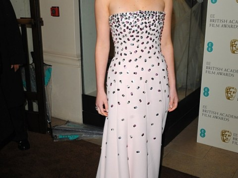 'Exhausted' Jennifer Lawrence kicks off heels and hits up vending machine at the Baftas