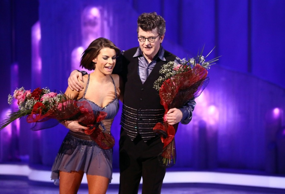 Dancing On Ice: Joe Pasquale is the latest celebrity to get the boot from the competition