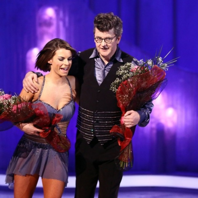 Joe Pasquale voted off Dancing On Ice