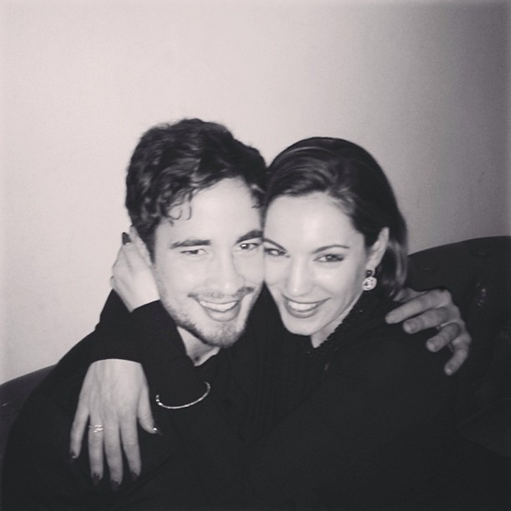 Danny Cipriani: Kelly Brook and I are making it work