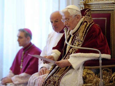 Italian news agency broke Pope resignation story as its reporter can speak Latin