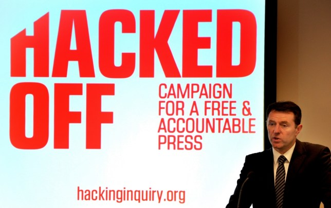 Hacked Off campaigner Gerry McCann