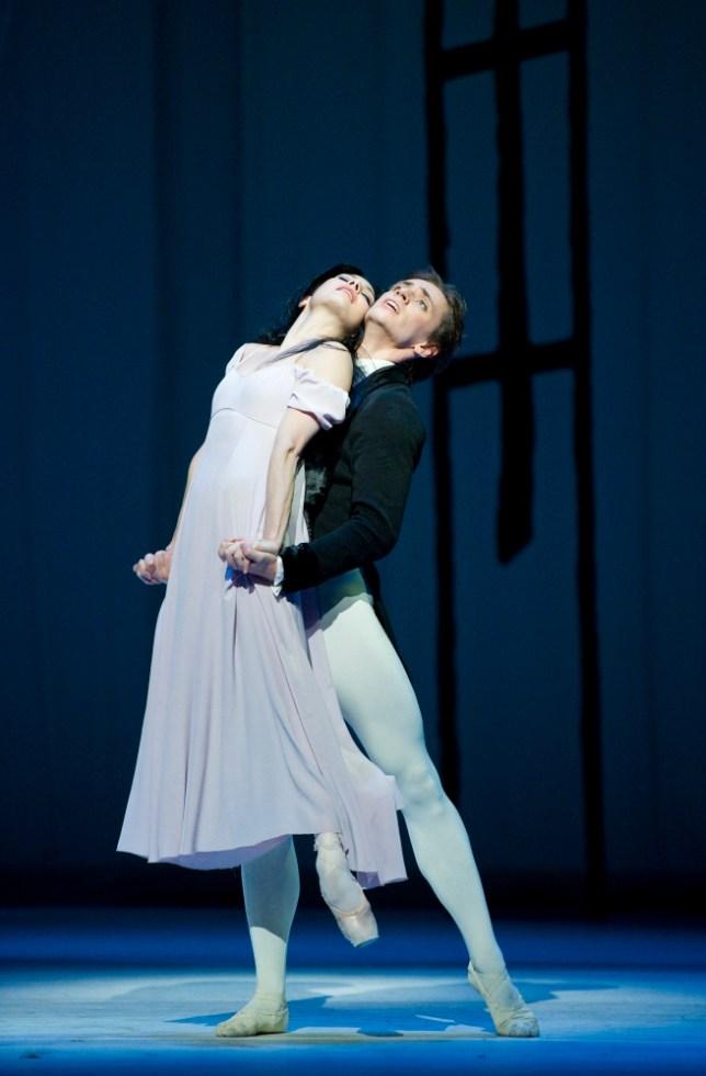 Tamara Rojo and Sergei Polunin in Ashton Mixed Bill at the Royal Opera House