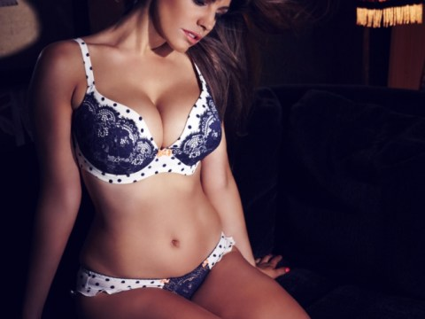 Kelly Brook shows off her curves in sexy lingerie shoot as she 'piles on 10lbs after Thom Evans split'