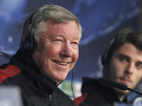 David de Gea is like a baby learning to walk, says Sir Alex Ferguson