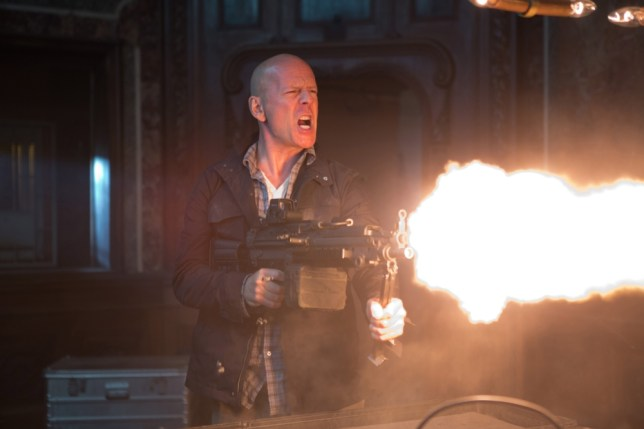 Bruce Willis goes in all guns blazing in A Good Day To Die Hard