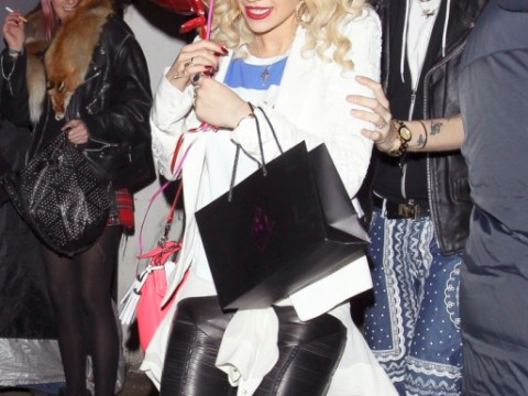 James Arthur nowhere to be seen as Rita Ora spends Valentine's Day with Nick Grimshaw