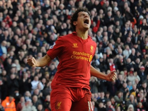 Philippe Coutinho scores on full debut as Liverpool romp to win over Swansea