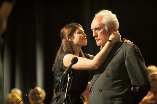 Gemma Arterton and Terence Stamp in Song For Marion
