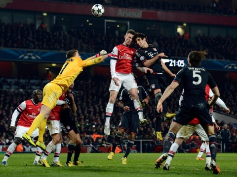 Gallery: Arsenal v Bayern Munich – UEFA Cup – 19 February 2013